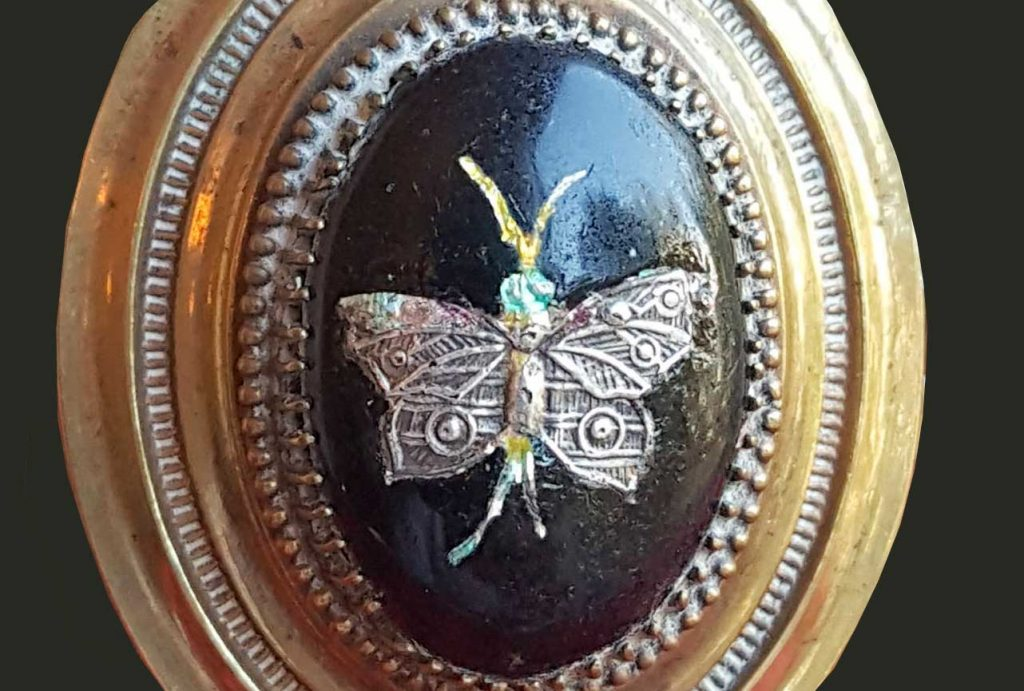 International Butterfly Breeders Association Victorian Mourning Jewelry Butterfly Theme