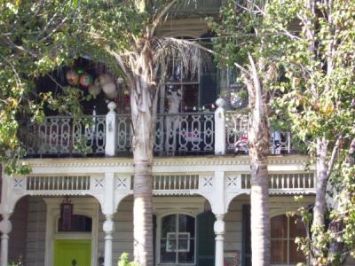 Garden District Balcony