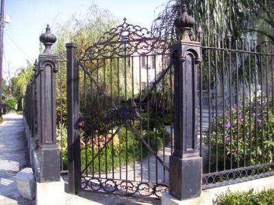 Garden District Gate